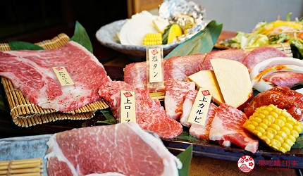 大阪道頓堀「はや・しゃぶ兆」燒肉、涮涮鍋吃到飽108道單品
