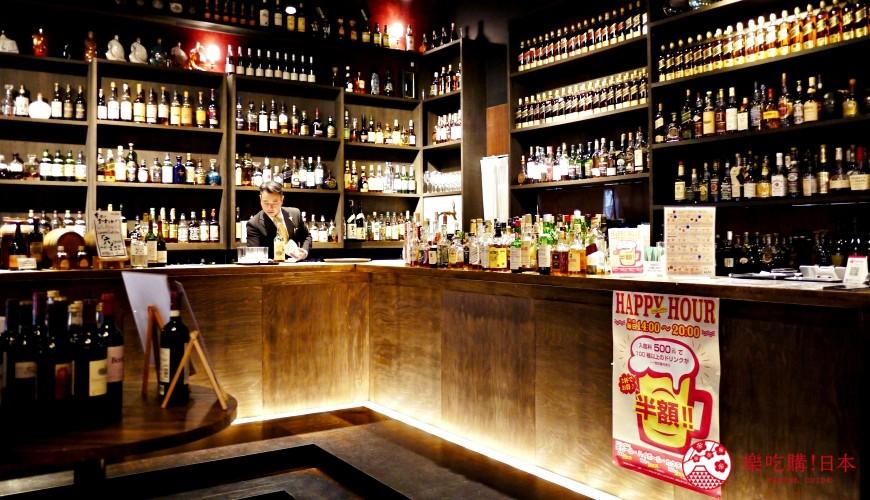 想喝日本威士忌名酒就去京都!「酒的美术馆本店」好酒三千种,山崎12年、轻井泽8年通通有