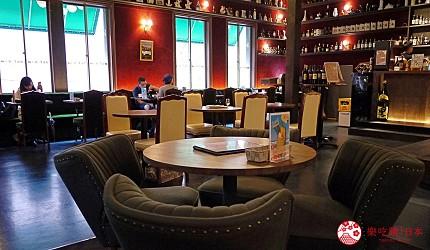 京都威士忌名酒推薦店家「酒的美術館三條烏丸本店」的店內環境