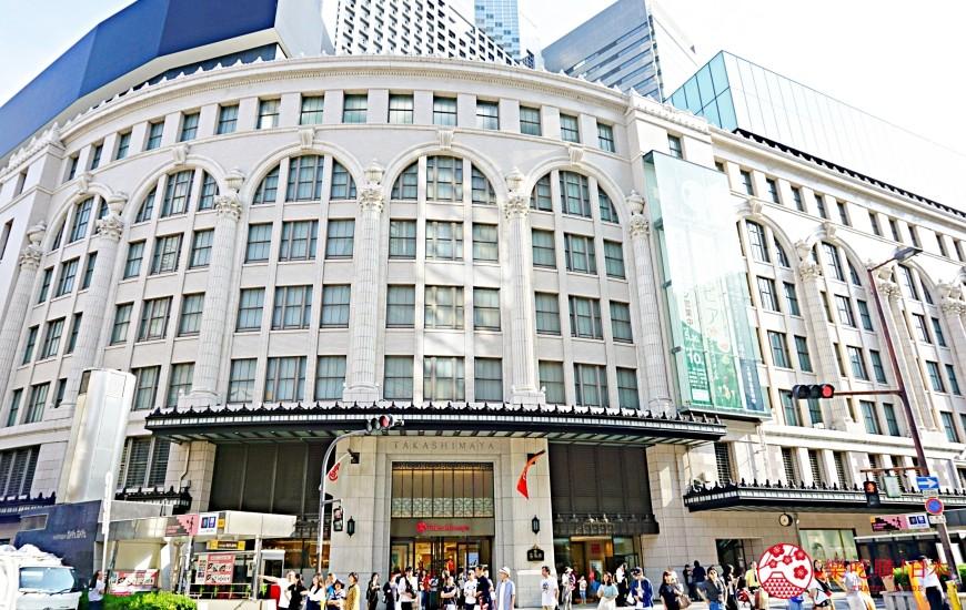 南海難波站出口直達的便利購物聖地大阪難波高島屋