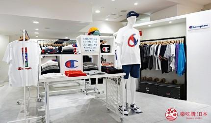 大阪難波高島屋內的Champion店
