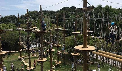 关西自由行「淡路岛」环岛一日游行程推荐景点「二次元之森」的「蜡笔小新冒险森林」