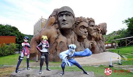 关西自由行「淡路岛」环岛一日游行程推荐景点「二次元之森」的「火影忍者的忍里之村」