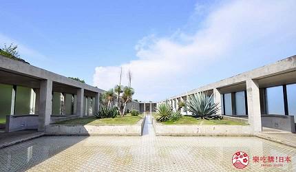 关西自由行「淡路岛」环岛一日游行程推荐景点「淡路梦舞台」的山之回廊