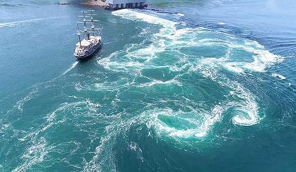 关西自由行「淡路岛」环岛一日游行程推荐景点「鸣门漩涡」