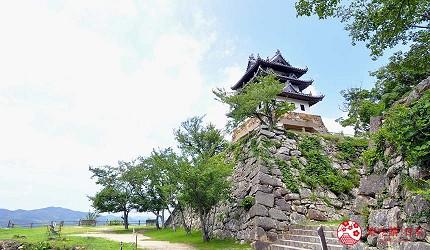 关西自由行「淡路岛」环岛一日游行程推荐景点「洲本城迹」