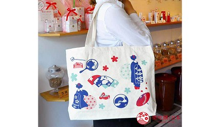 京都美人的秘密美妝保養品「京乃雪」的限定優惠贈品「京都くろちく・帆布トートバッグ」帆布環保袋