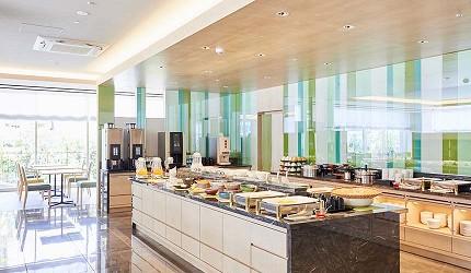 京都旅遊市區住宿推薦「京都 Ublhotel」的早餐餐廳
