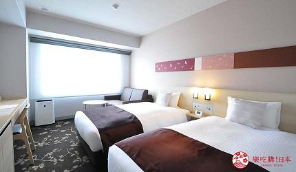 京都旅遊市區住宿推薦「京都 Ublhotel」的女性專屬房間