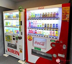 京都旅遊市區住宿推薦「京都 Ublhotel」的自動販賣機