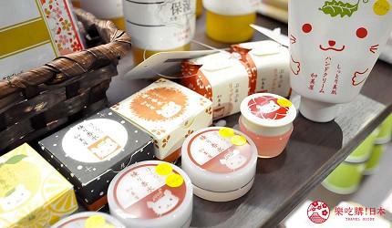 京都旅遊市區住宿推薦「京都 Ublhotel」的伴手禮店家「祇園359」的販售的京都加美屋的商品