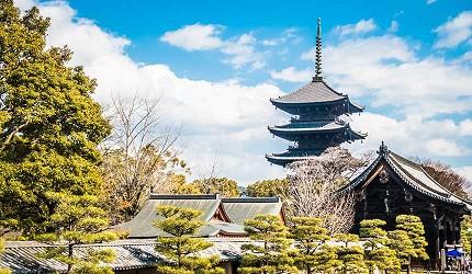 京都旅遊市區住宿推薦「京都 Ublhotel」附近的東寺