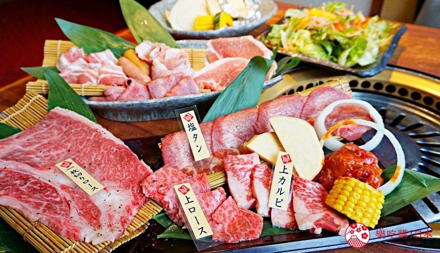 大阪道頓堀必吃「はや・しゃぶ兆」:高CP值燒肉、涮涮鍋吃到飽只要2,838日圓起!