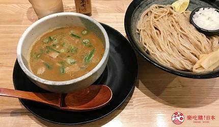 大阪心齋橋必吃沾麵「麺匠たか松」的沾麵湯頭