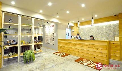 日本大阪的平價住宿酒店推介推薦 THE STAY OSAKA 心齋橋的前台