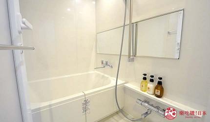 日本大阪的平價住宿酒店推介推薦THE STAY OSAKA 心齋橋的房間內設的衛浴