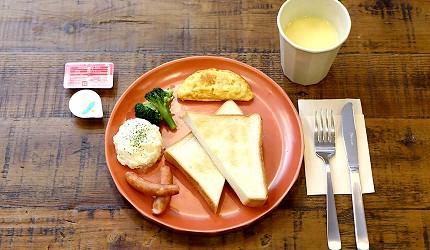 日本大阪的平價住宿酒店推介推薦 THE STAY OSAKA 心齋橋的早餐