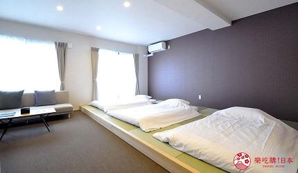 日本大阪的平價住宿酒店推介推薦THE STAY OSAKA 心齋橋館內可住5人的房間
