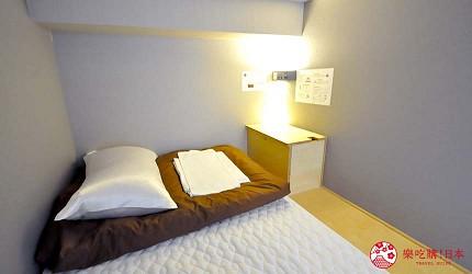 日本大阪的平價住宿酒店推介推薦THE STAY OSAKA 心齋橋的上下舖宿舍房型的房間內觀