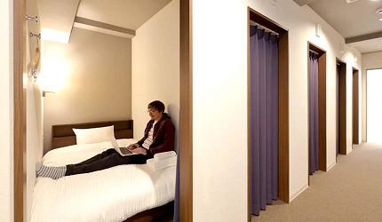 日本大阪的平價住宿酒店推介推薦THE STAY OSAKA 心齋橋的個人床位宿舍
