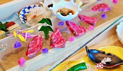 日本「淡路島」環島一日遊景點推薦!餐廳「IKOI Japanese Cuisine」的牛肉薄片
