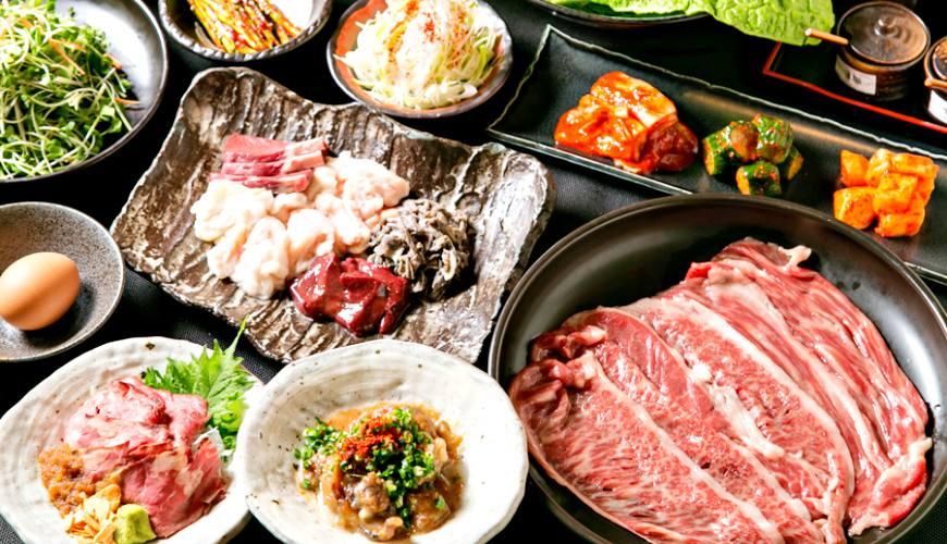 大阪梅田必吃「牛肉專門 豐後牛肉店」最頂級和牛:得過日本第一,5,500円霜降燒肉入口即化