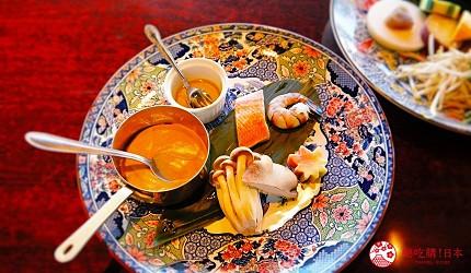 神戶三宮站必吃神戶牛排店「steak house ZEN」的「鮮麗」套餐的當季鮮魚與菇類