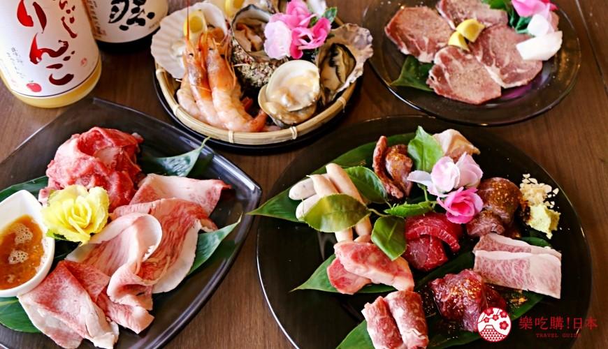 大阪难波「牛一筋」和牛海鲜吃到饱超推荐:只要4,000日元起,真材实料高CP值!