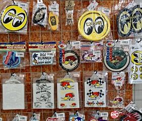 大阪推薦機車部品電單車用品店「Bike World」標籤貼紙