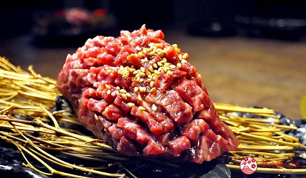 大阪心齋橋燒肉神戶牛推介推薦店舖焼肉どうらく心斎橋店的厚切下橫膈肉