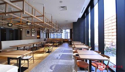 日本自由行大阪交通方便住宿推介karaksa hotel grande 新大阪 Tower唐草飯店早餐提供的餐廳