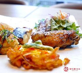日本自由行大阪交通方便住宿推介karaksa hotel grande 新大阪 Tower唐草飯店早餐提供的熱食