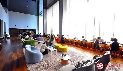大阪京都溫泉會館推薦「SPA&HOTEL 水春 松井山手店」的一樓大廳