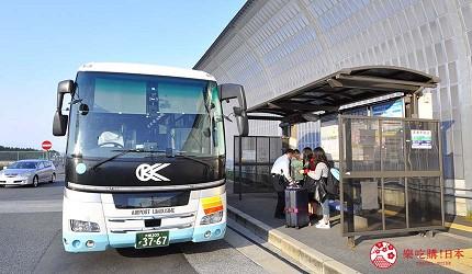 大阪京都溫泉會館推薦「SPA&HOTEL 水春 松井山手店」交通方式搭乘巴士