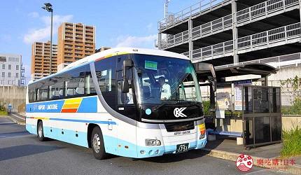 大阪京都溫泉會館推薦「SPA&HOTEL 水春 松井山手店」搭乘巴士前往京都