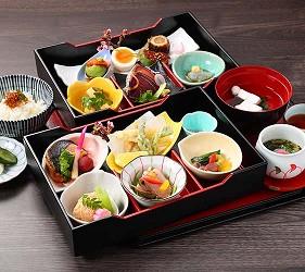 大阪京都溫泉會館推薦「SPA&HOTEL 水春 松井山手店」的京和食便當