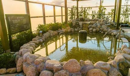 大阪京都溫泉會館推薦「SPA&HOTEL 水春 松井山手店」的溫泉池