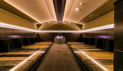 大阪京都溫泉會館推薦「SPA&HOTEL 水春 松井山手店」的岩盤浴