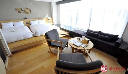 大阪京都溫泉會館推薦「SPA&HOTEL 水春 松井山手店」的豪華和洋家庭房