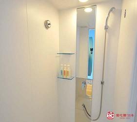 大阪京都溫泉會館推薦「SPA&HOTEL 水春 松井山手店」的房間浴室