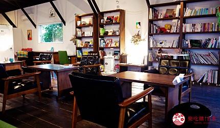 關西自由行必去推薦推介大阪難波和泉市市民最愛的咖啡廳CAFE MANO的內觀