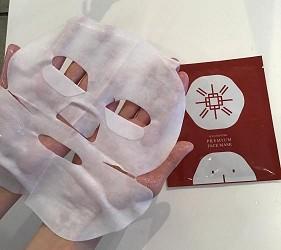 京都美人的秘密美妆保养品「京乃雪」的数量限定「顶级保湿面膜 Premium Face Mask」