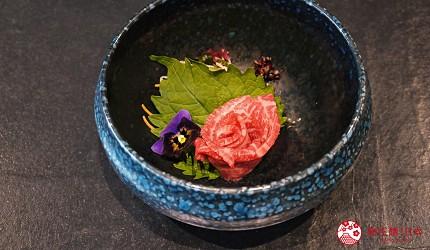 日本三大和牛滋贺近江牛推荐餐厅毛利志满近江牛三上石烧套餐近江牛牛肉刺身生牛肉
