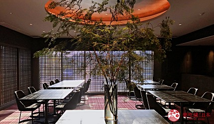 日本三大和牛滋贺近江牛推荐餐厅毛利志满内装
