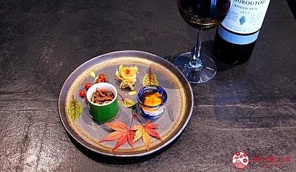 日本三大和牛滋賀近江牛推薦餐廳毛利志滿近江牛三上石燒套餐前菜
