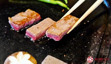 日本三大和牛滋贺近江牛推荐餐厅毛利志满近江牛三上石烧套餐近江牛牛排