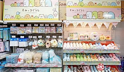 大阪必逛文具包装采购天堂「シモジマ 下岛包装广场・文具商城 心斋桥店」贩卖的角落生物周边