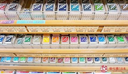 大阪必逛文具包装采购天堂「シモジマ 下岛包装广场・文具商城 心斋桥店」贩卖的「印泥」