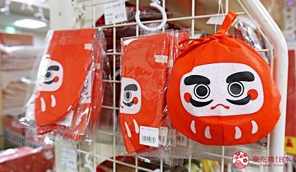 大阪必逛文具包装采购天堂「シモジマ 下岛包装广场・文具商城 心斋桥店」贩卖的「不倒翁袋子」