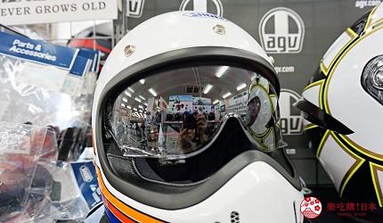 大阪推薦機車部品店「Bike World」復古安全帽風鏡